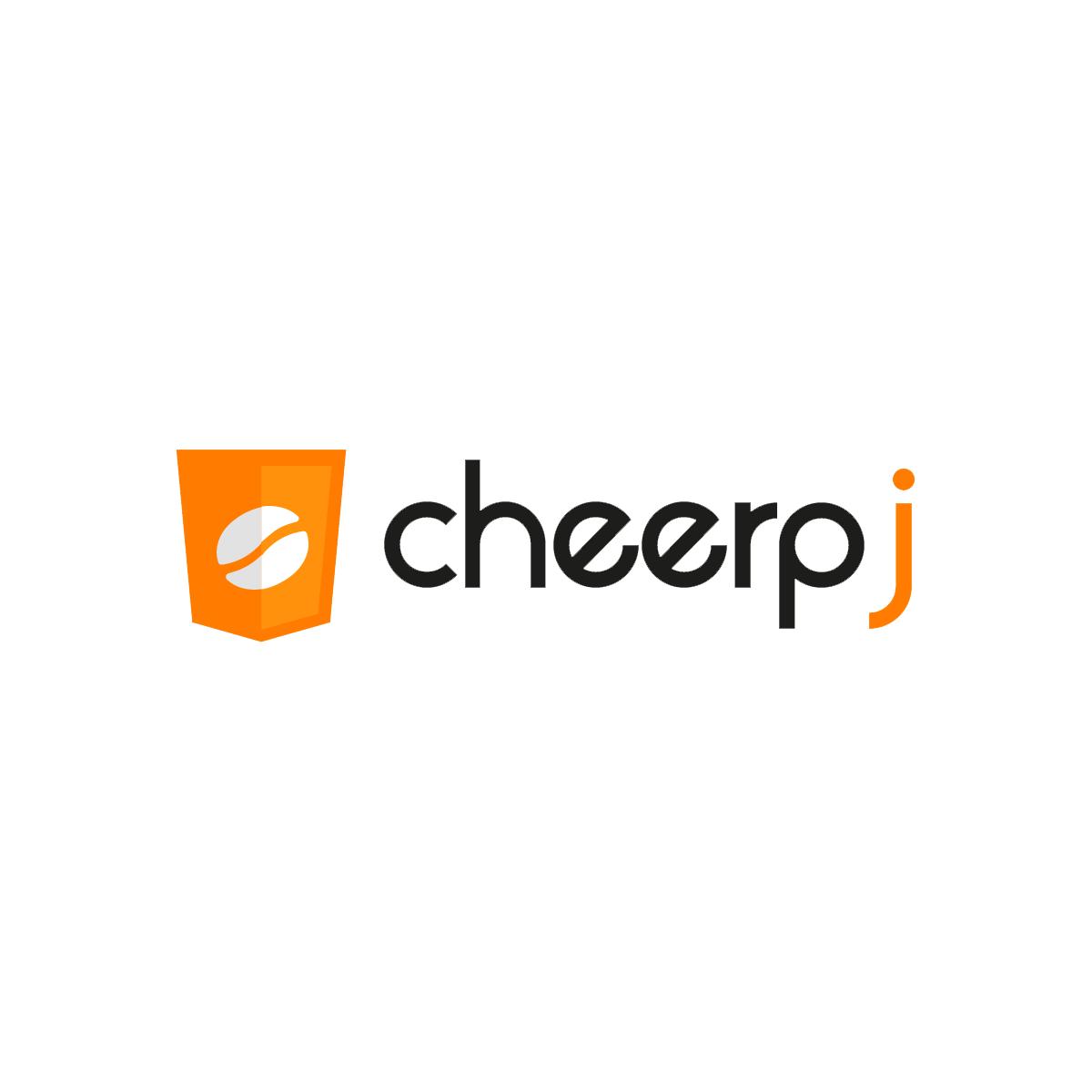 CheerpJ Logo - Java to WebAssembly Compiler